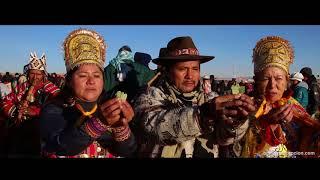 Fête du Solstice à Tiwanaku (Tiahuanaco), Bolivie