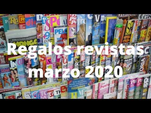 Regalos Revistas Marzo 2020