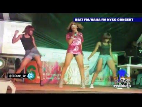 Blaze Tv Yemi Alade's Performance at the Beatfm NYSC Concert
