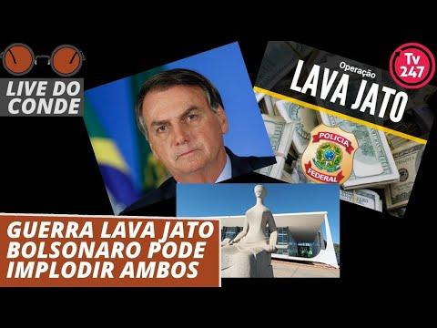 live-do-conde:-guerra-lava-jato-bolsonaro-pode-implodir-ambos