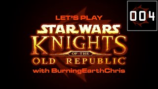 Lets Play | Star Wars: KOTOR #004 -  Unrest In The Undercity
