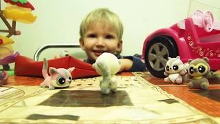 Юху и Друзья катаются в большой розовой машине Барби!!