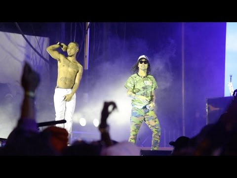 Rae Sremmurd - Start A Party LIVE | EAT. CLOTHING BRAND #IFYOUDONTEATYOUDIEINTHESTREET