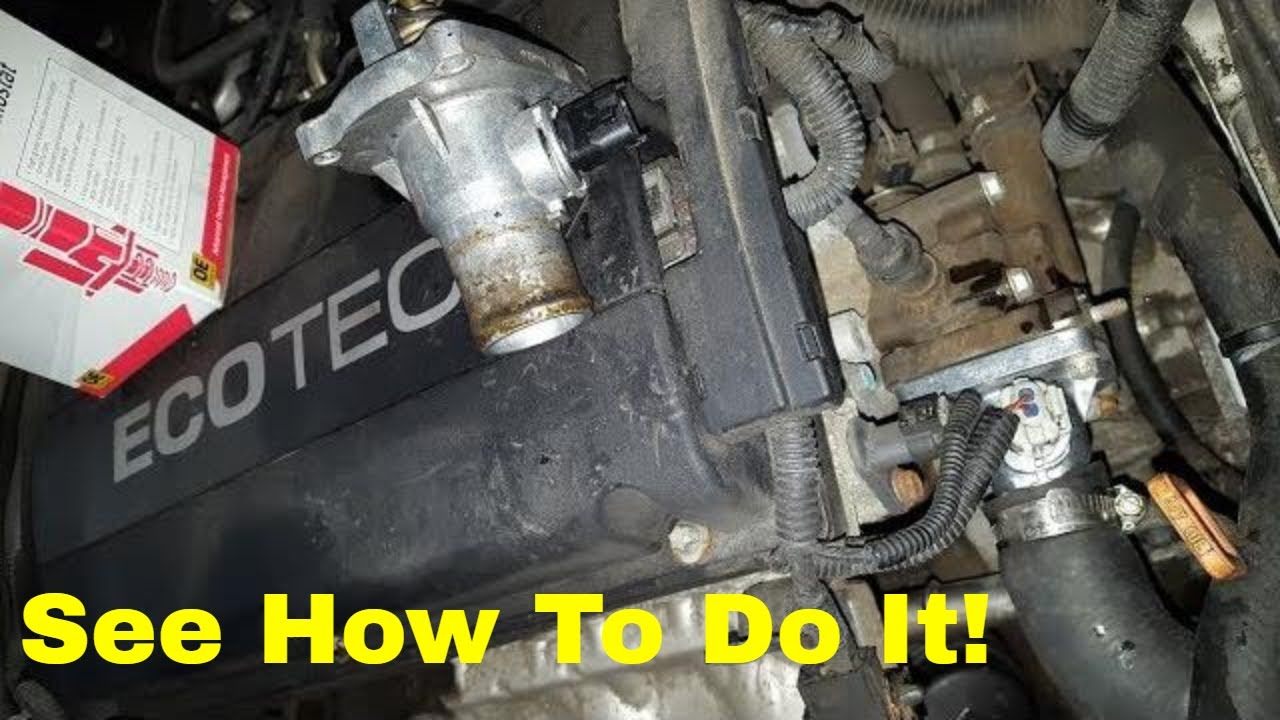 1 6 Ecotec Thermostat Replacement Aveo G3 Swift Youtube