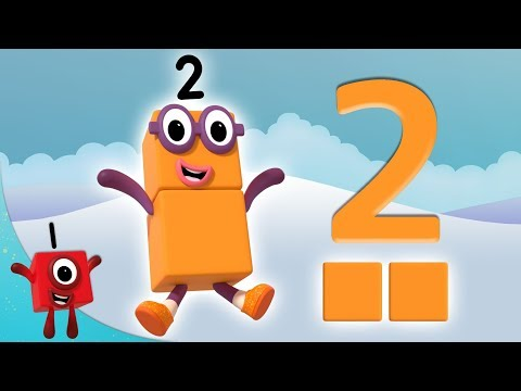 Numberblocks - The Number 2 | Learn to Count | Learning Blocks