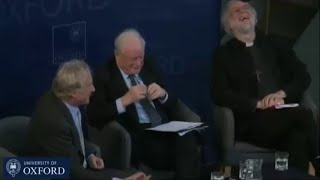 Richard Dawkins trying hard to get into the mind of a Bishop