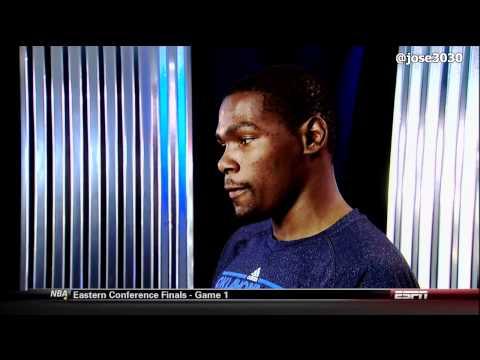 Kevin Durant / Charles Craig Special On ESPN - 2012 NBA Playoffs