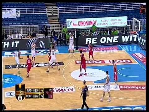 Panathinaikos B.C.-Olympiakos 77-76 Greek Cup 2014