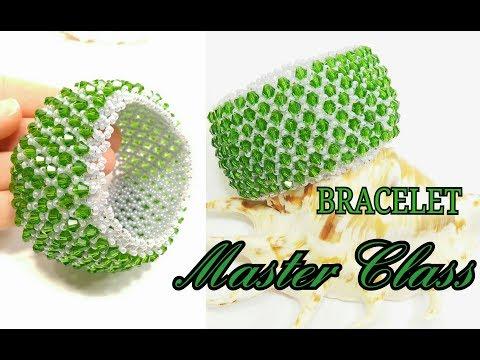 Шикарный Браслет из Бисера и Биконусов Своими Руками/Chic Bead And Biconus Bracelet/Beaded Bracelet