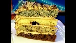 """Торт """"Сказка"""" - очень вкусный, красивый и сытный!"""