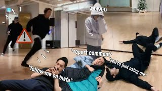 just another day in EXO's practice room