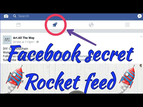 Facebook's new ROCKET🚀feed icon  Update