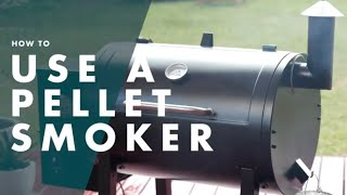How To Use A Pellet Smoker - BBQ Advice At Bunnings