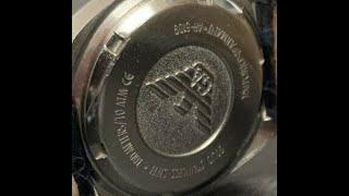 알마니 시계 AR 5109 수리기 - 파트 1 / Ar…