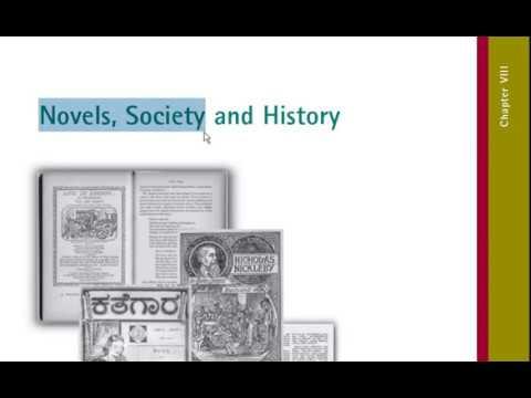 Novels Society and History Part 1 In Hindi