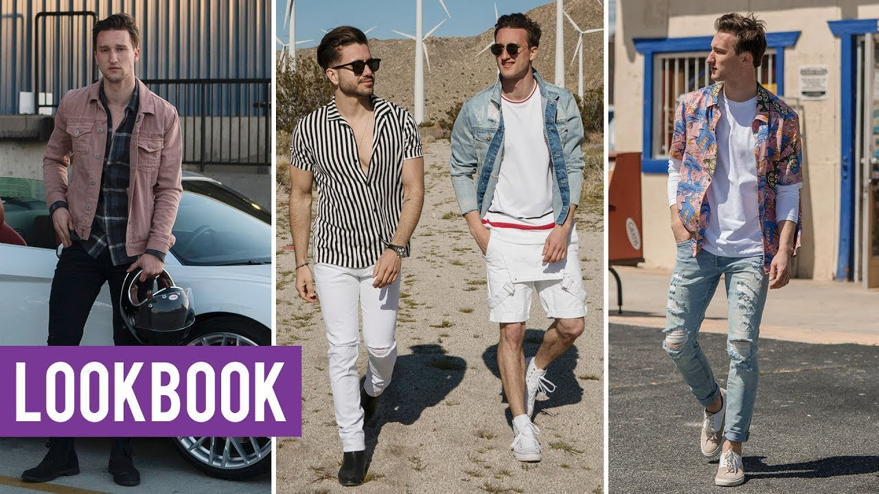 dedeeefc86c Men s Summer Lookbook with Alex Costa 2018