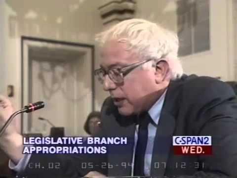 Bernie Sanders: Wasting Government Money on Nixon (5/25/1994)