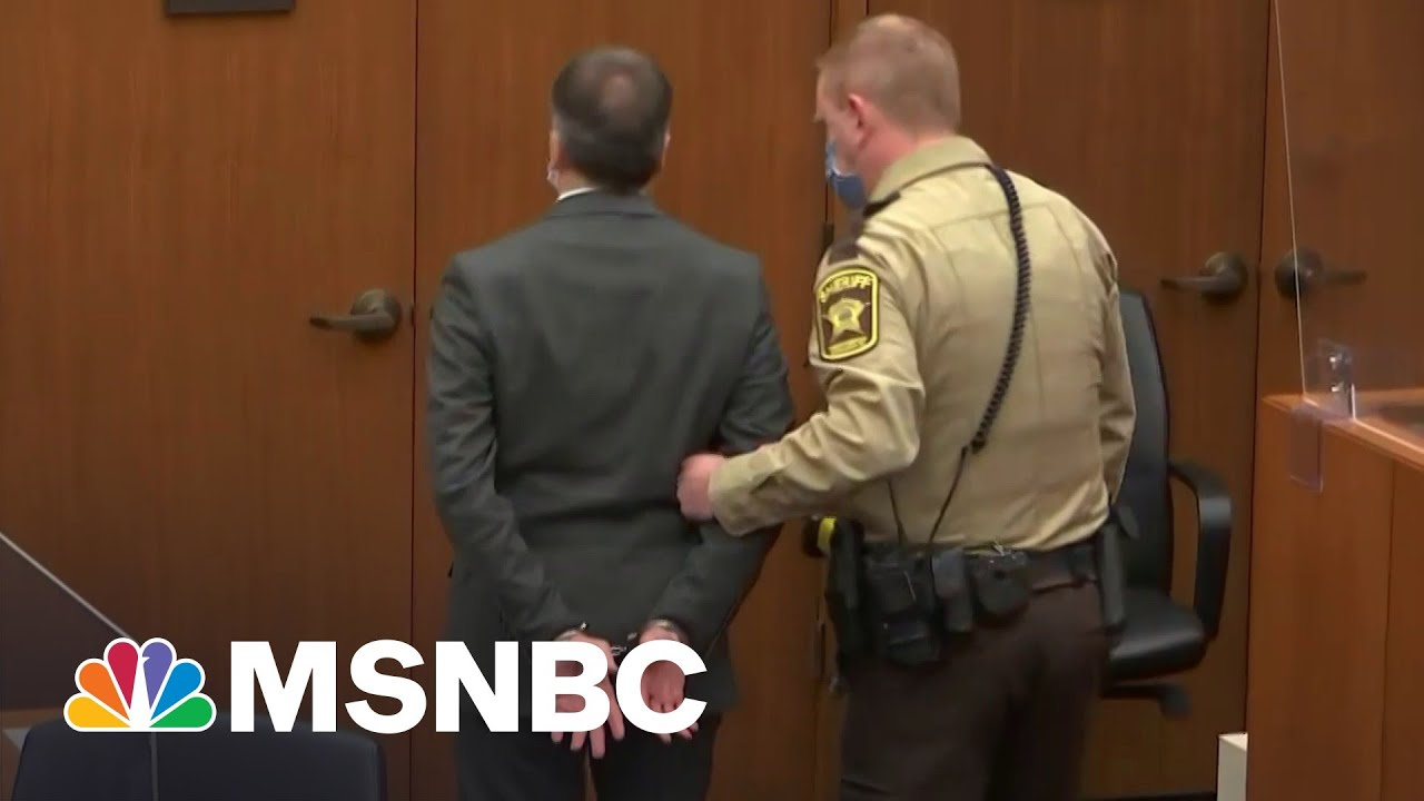 Derek Chauvin Convicted Of Murder | The 11th Hour | MSNBC