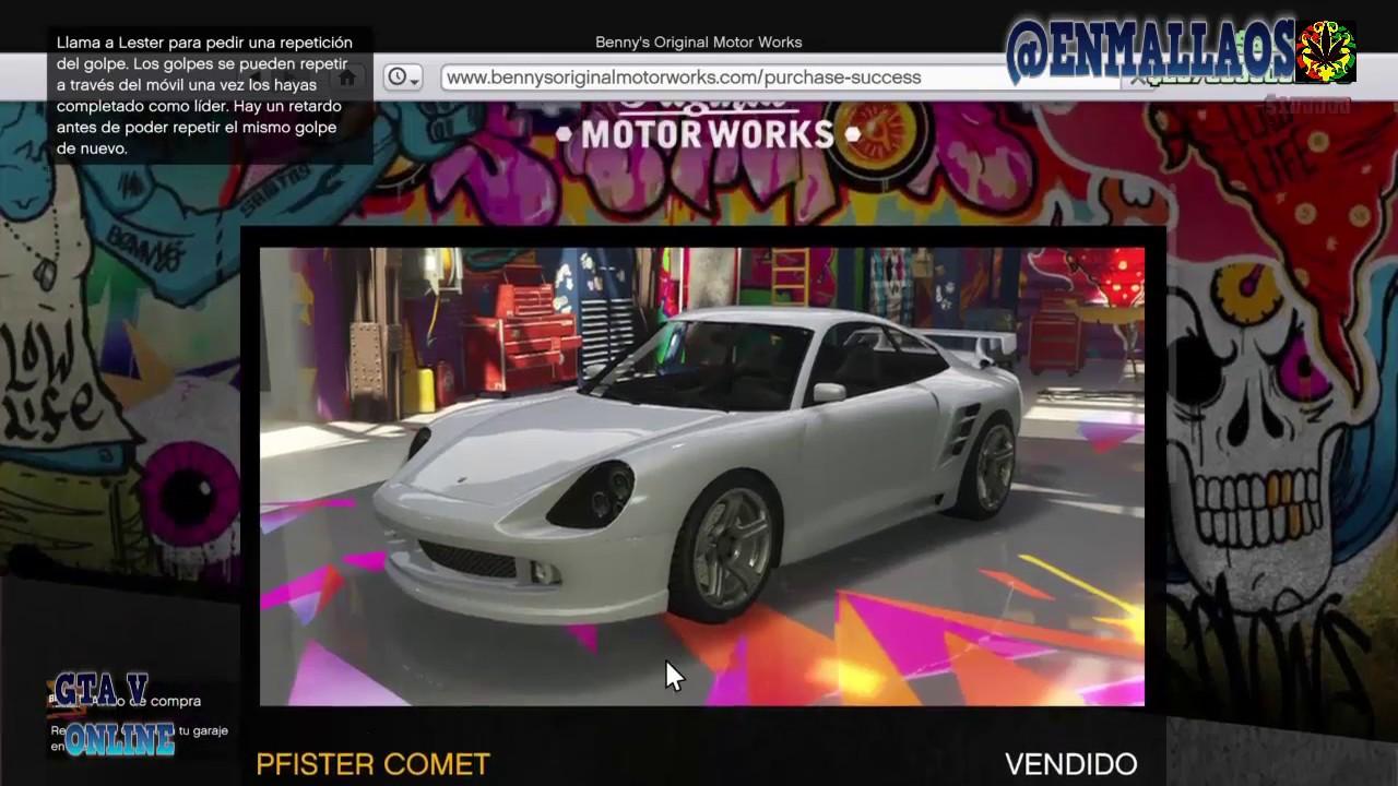 Gta v online ps4 tuneando nuevo pfister comet retro custom porsche 911 turbo