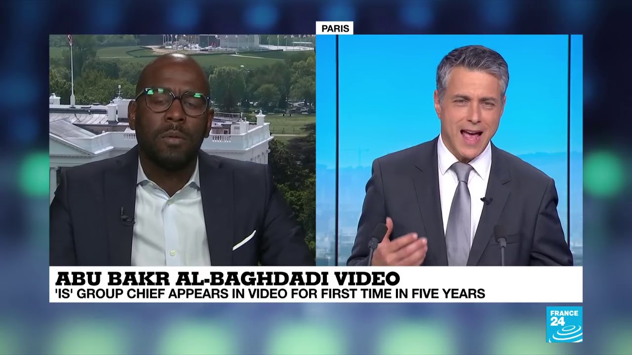 Muhammad Fraser Rahim on the Abu Bakr al-Baghdadi video - France 24 News