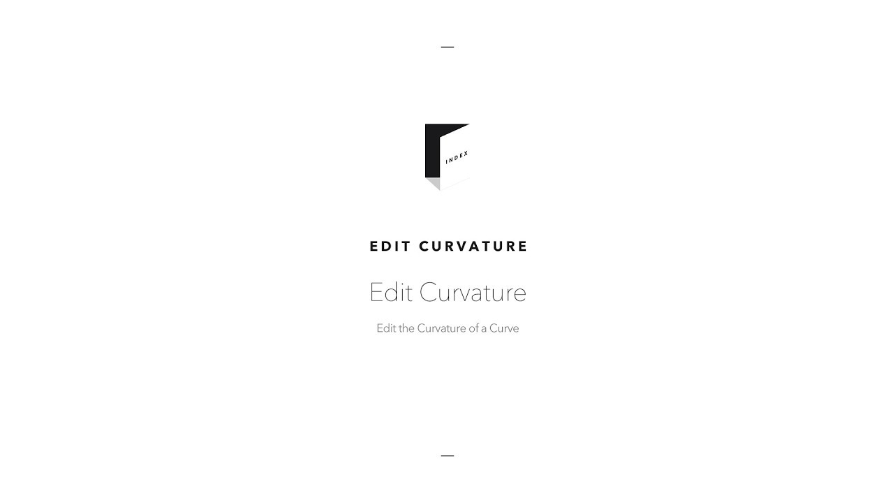 Edit Curvature – How can we help you?