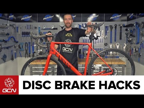 Disc Brake Hacks For Road Bikes | Road Bike Maintenance