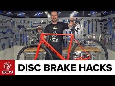 Disc Brake Hacks For Road Bikes | Road Bike Maintenance