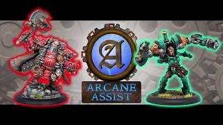Arcane Assist Batreps: Butcher3 vs Locke (CoC)