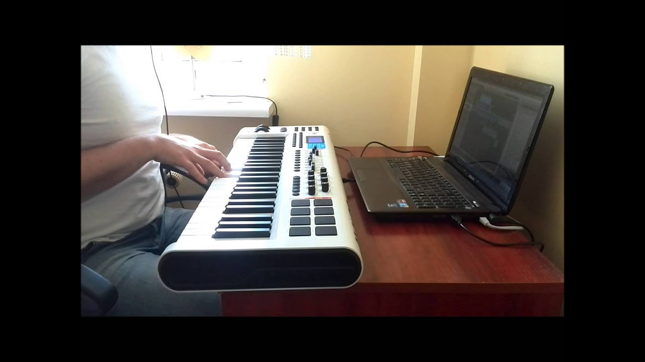 m audio axiom pro 49 midi controller keyboard with studio one artist 2 by scrubmusic youtube. Black Bedroom Furniture Sets. Home Design Ideas