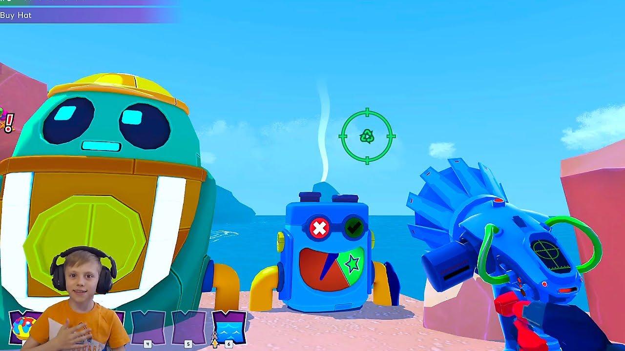 Даник и игра ISLAND SAVER - прохождение. Развивающая яркая игра для всех игровых платформ!