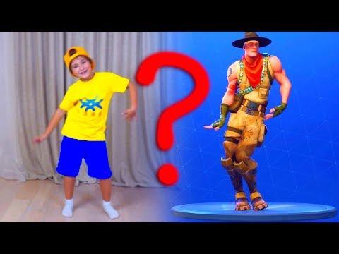 Кто КРУЧЕ ТАНЦУЕТ ? Аминка и Камиль УСТРОИЛИ Челлендж в Fortnite Dance Challenge