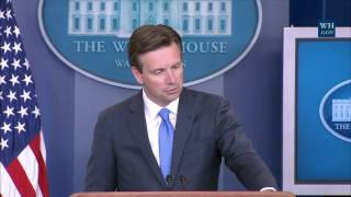 8/24/16: White House Press Briefing