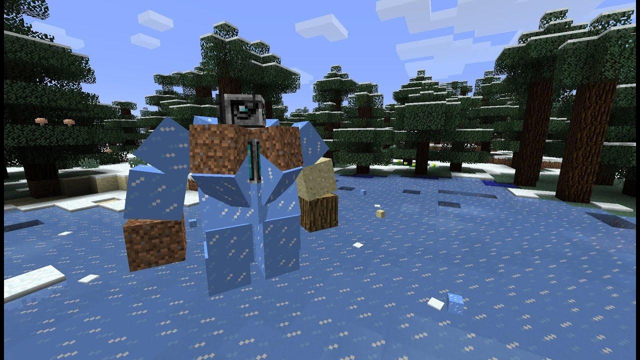 Minecraft 1 5 snapshot 13w03a giant golems deer nature - Minecraft golem de fer ...
