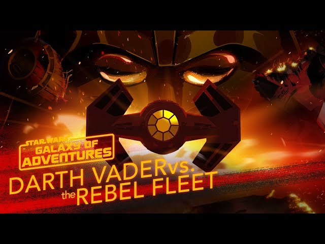 Darth Vader vs. the Rebel Fleet - Fearsome Fighter Pilot | Star Wars Galaxy of Adventures