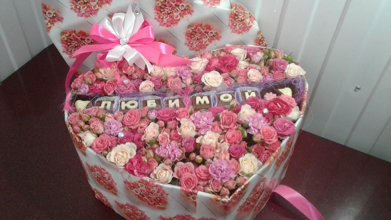 Цветы в коробке своими руками, 3 идеи 7