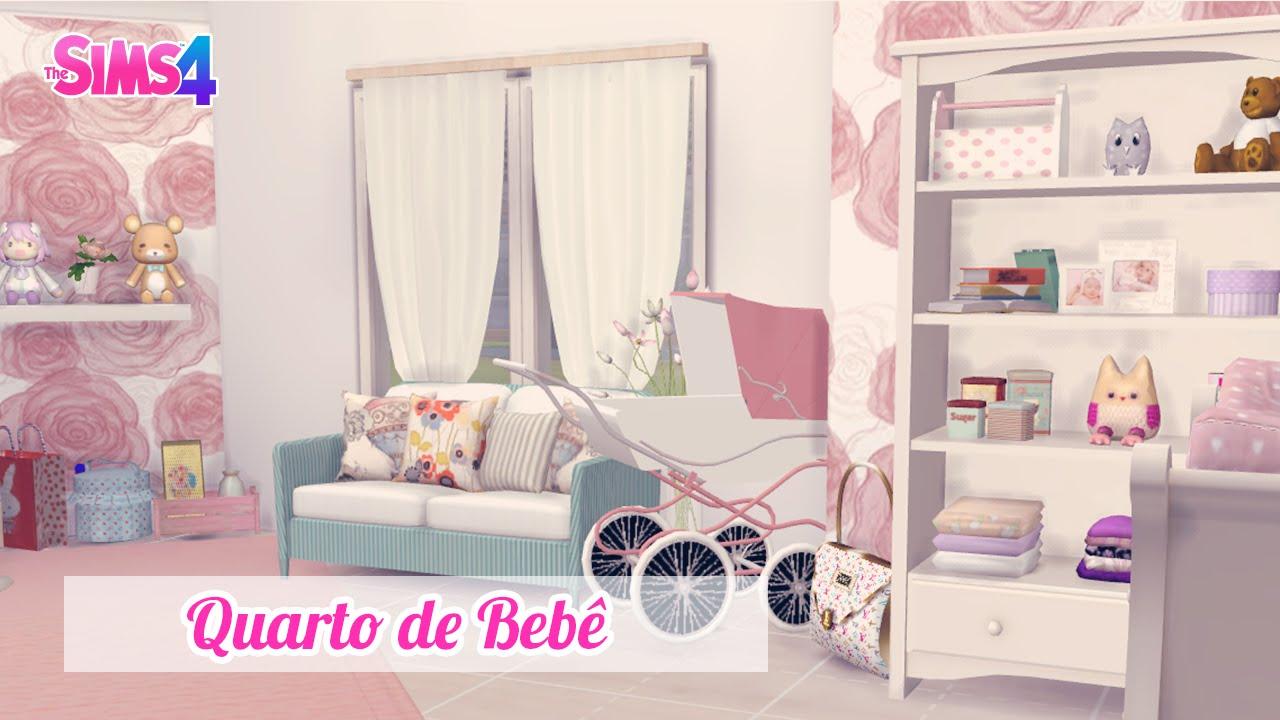 Quarto Rosa de Bebê ? The Sims 4 YouTube ~ Cores Para Quarto Tumblr
