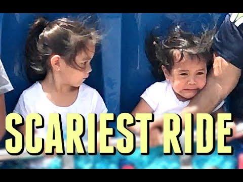 SCARIEST RIDE EVER!  July 18, 2017   ItsJudysLife Vlogs