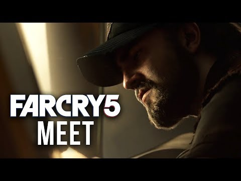 FAR CRY 5 - Meet Pastor Jerome Jeffries, Nick Rye & Mary May Fairgrave