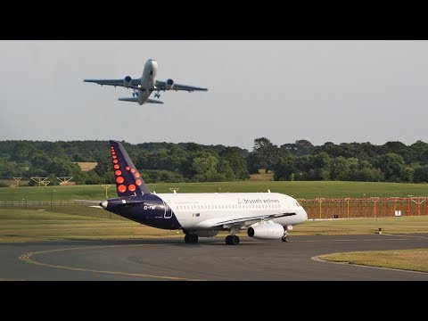 REJECTED takeoff / GO AROUND Cityjet SSJ-95 and Air France A319