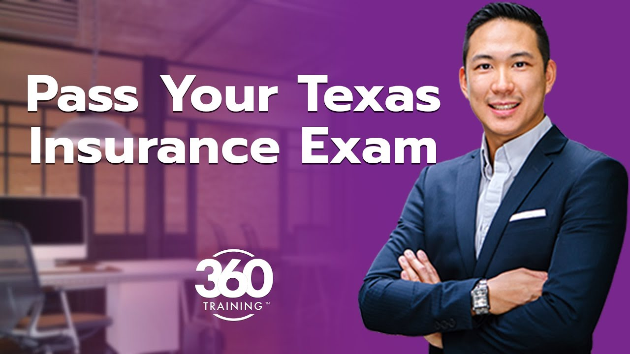 How to Pass Your Texas Insurance License Exam the First Time | 360training.com Video