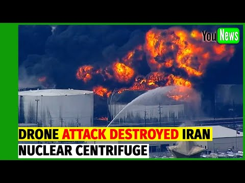 Iran nuclear centrifuge facility substantially damaged in DRONE attack.