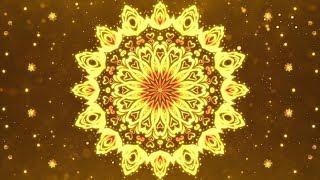 432Hz 》GOLDEN MANDALA 》Symbol of Radiant Energy & Prosperity 》Sun's Energy Meditation Music