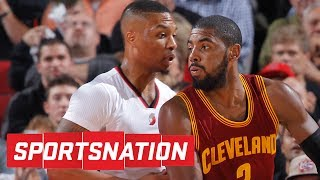 Kyrie irving or damian lillard: who's better? | sportsnation | espn