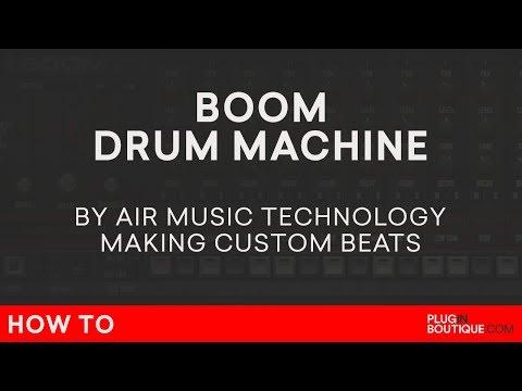 Boom VST/AU/Plugin   Air Music   How To Make A Beat (Beats) Tutorial   808 909 CR78 606