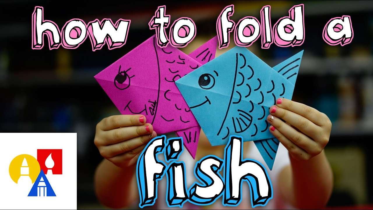 How To Fold An Origami Fish - YouTube