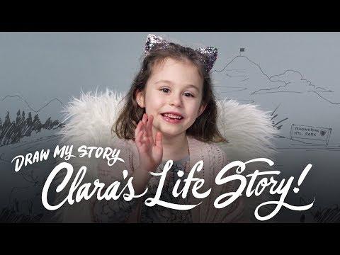 Clara's Life Story | Draw My Story | HiHo Kids