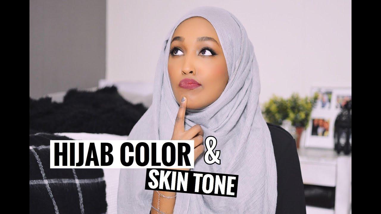 Hijab color skin tone couleur hijab et carnation de peau youtube - Carnation de peau ...