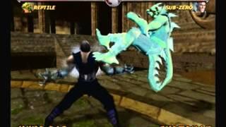 Mortal Kombat Deadly Alliance-Reptile Arcade Ladder