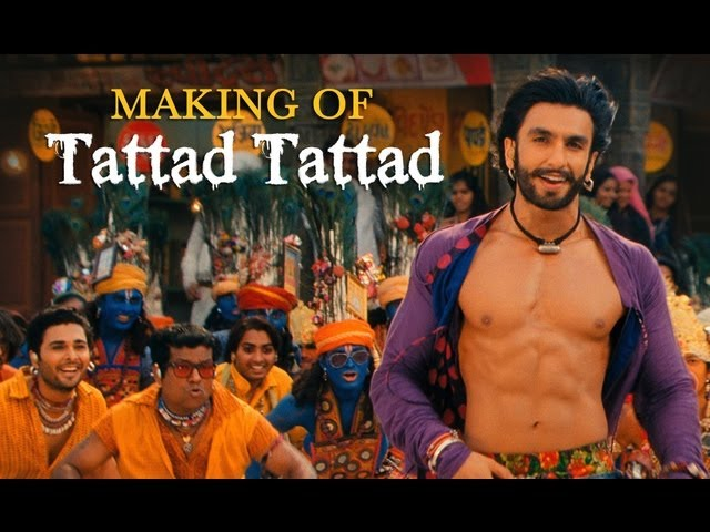 Tattad Tattad (Ramji Ki Chaal) Song Making | Goliyon Ki Raasleela Ram-leela Travel Video