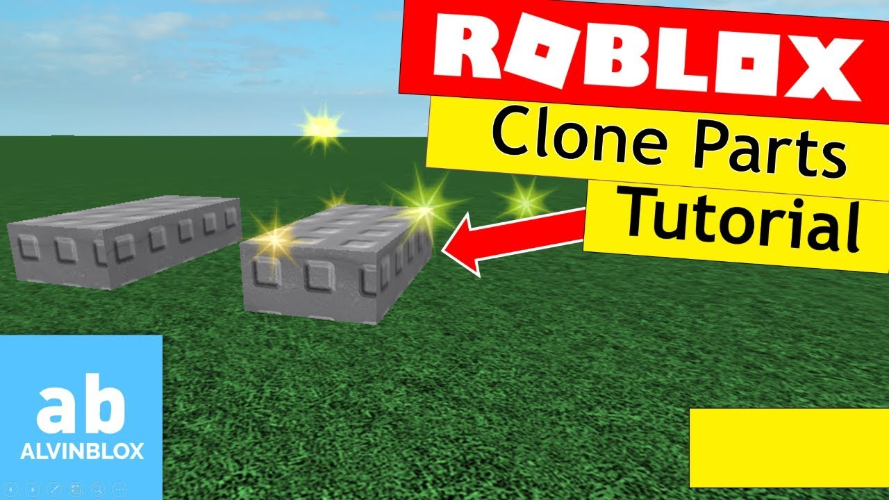Roblox Clone Tutorial - How To Clone An Object
